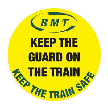 Keep the guard on the train image