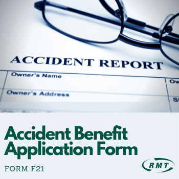 Accident Benefit Application Form