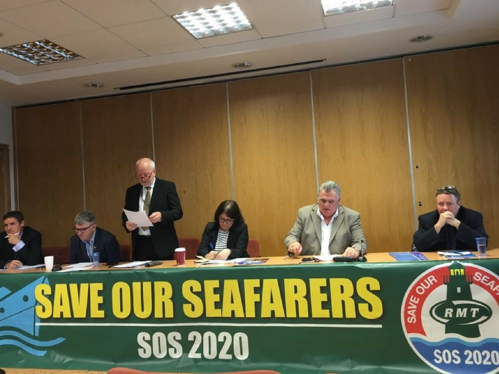 Save Our Seafarers - SOS 2020 - rmt