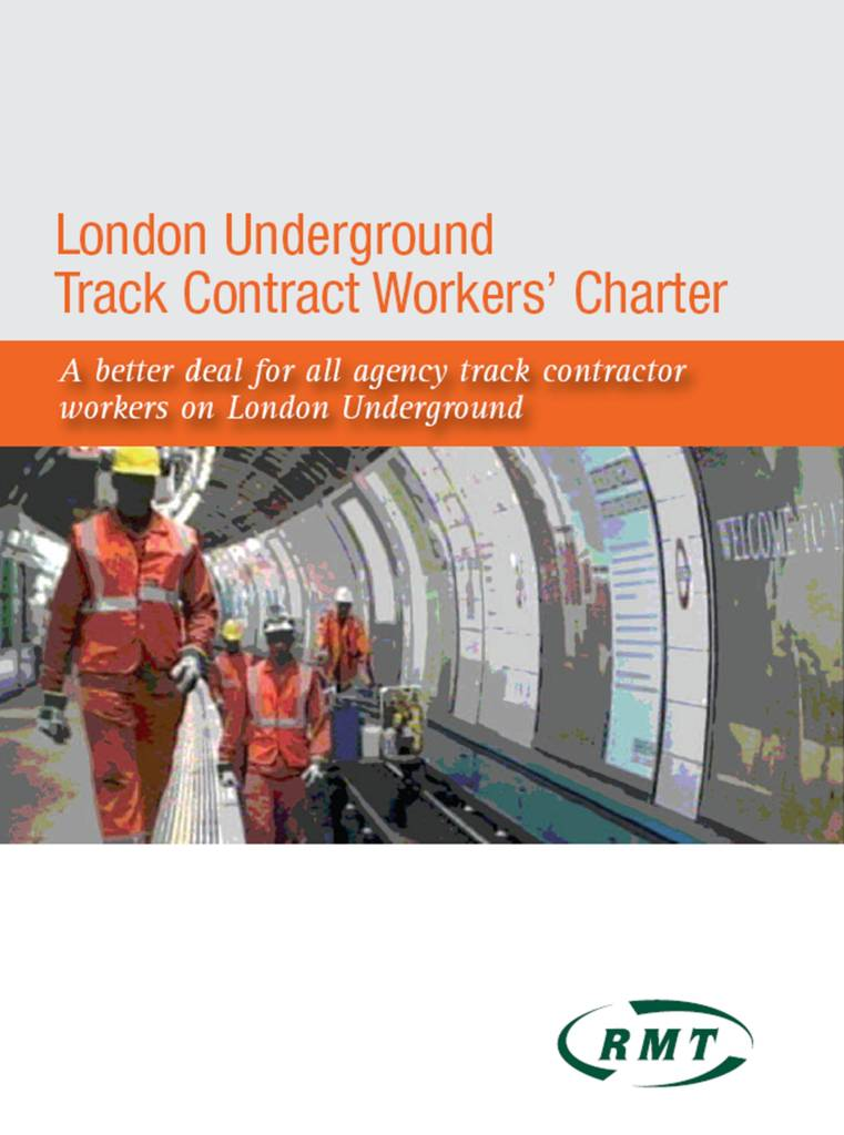 London Underground Track Contract Workers Charter