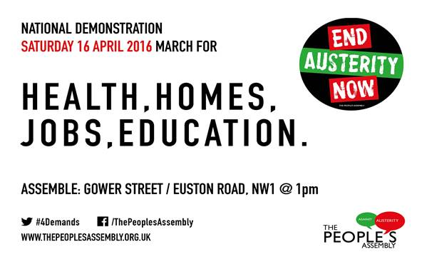 People's Assembly Demo 2016