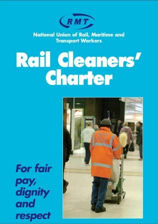 Rail cleaners charter