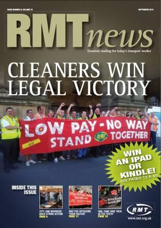 RMT News Sept 13