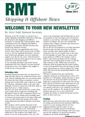 Shipping and offshore winter 13