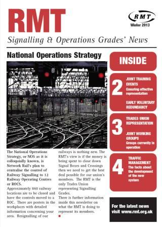 Signalling and Operations 2013