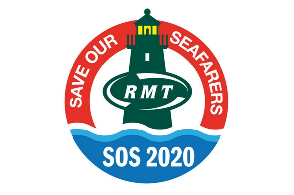 RMT protests in Aberdeen for SOS 2020 campaign