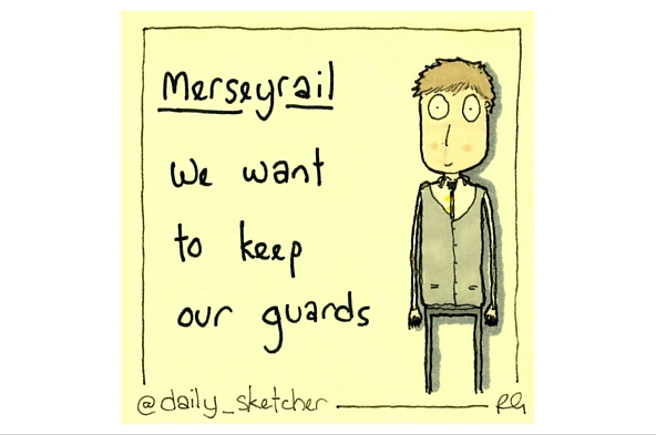 First anniversary of Merseyrail Guards' dispute