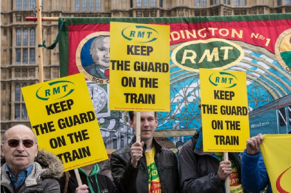 RMT confirms further strike action on Northern Rail
