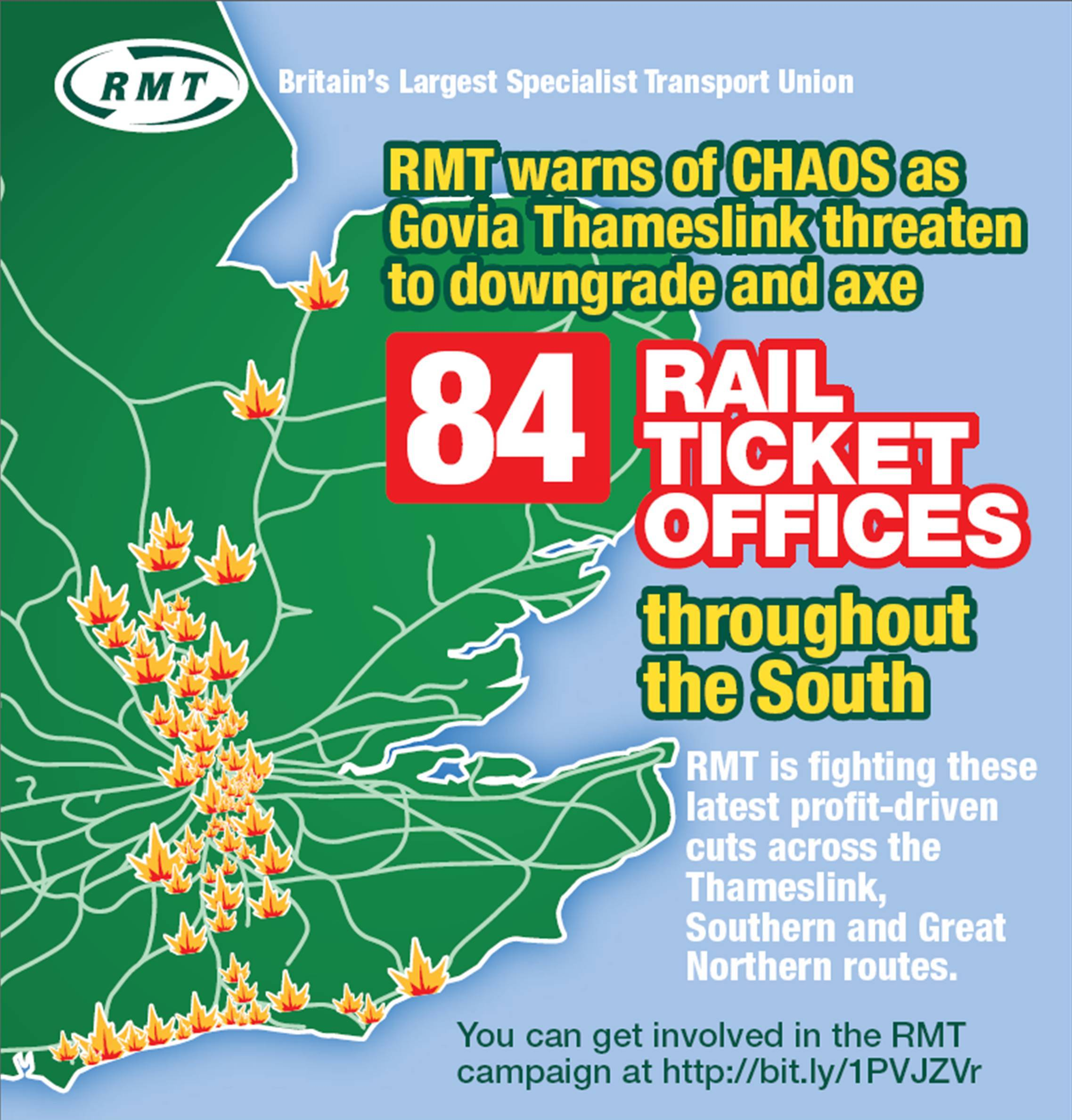 RMT prepares to ballot Southern GTR station staff