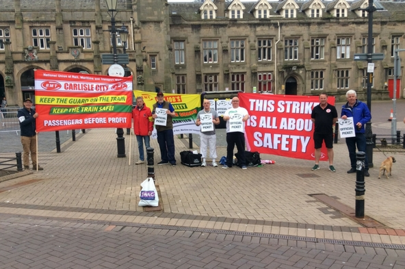 RMT strike action over safety and access solidly supported