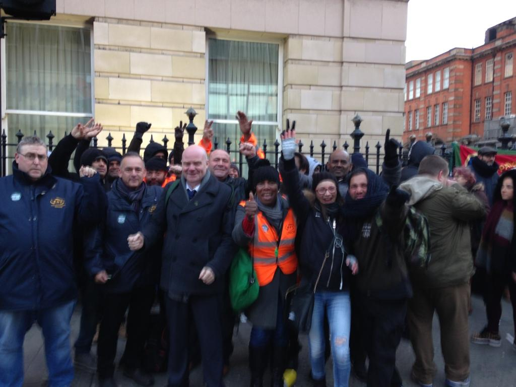 GWR Servest cleaners striking for pay