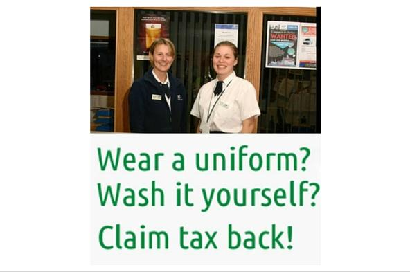 Claim a Tax Rebate for your uniform