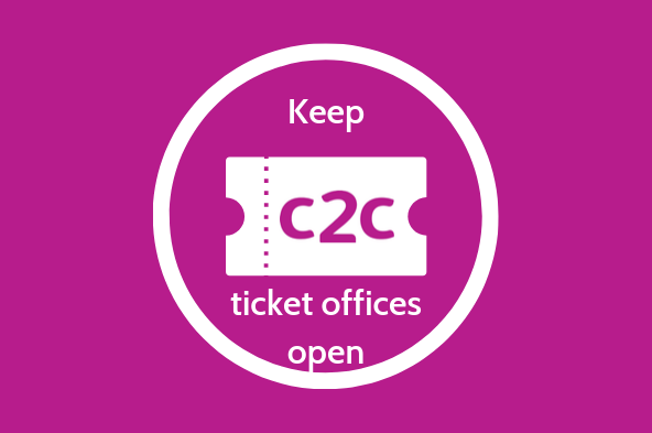 Keep c2c ticket offices open