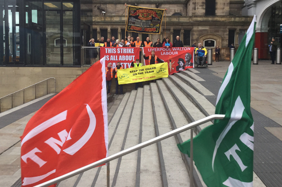 RMT members standing solid on Northern