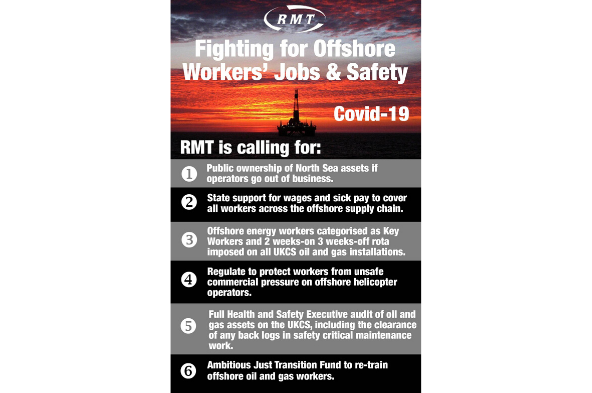 Offshore Workers' Jobs & Safety Infographic
