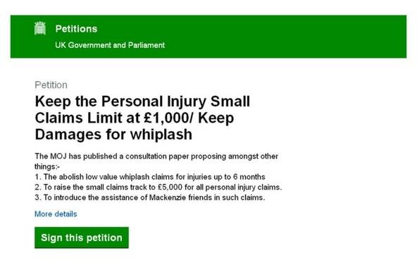 Personal Injury Small Claims