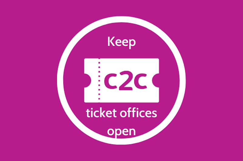 RMT demands that C2C drop ticket office plans