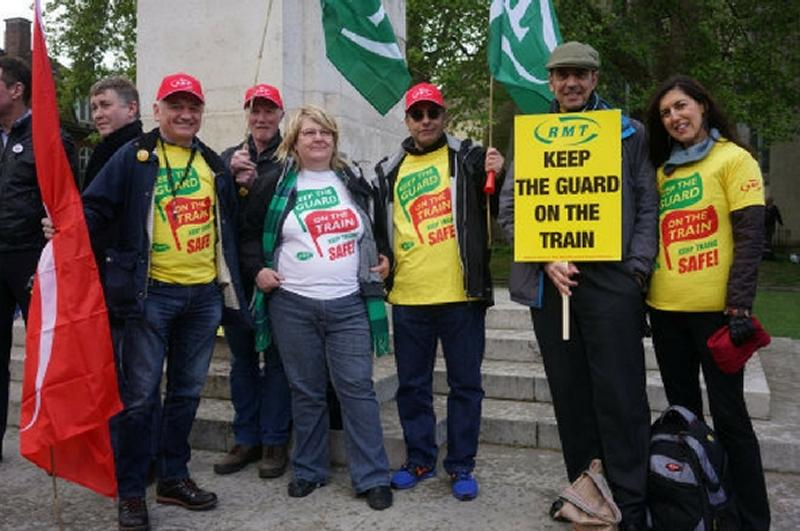 RMT announces DOO strike action in New Year