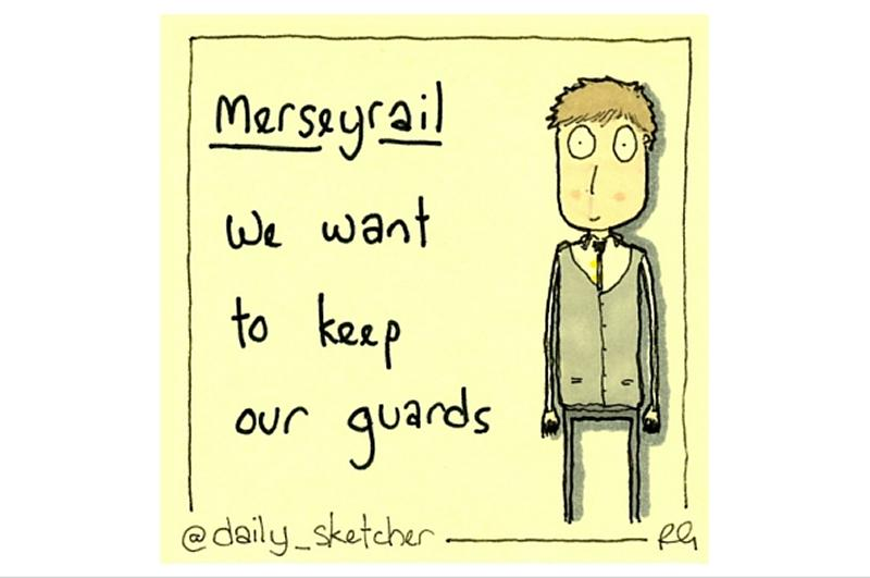 RMT welcomes TUC backing in Merseyrail guards' dispute