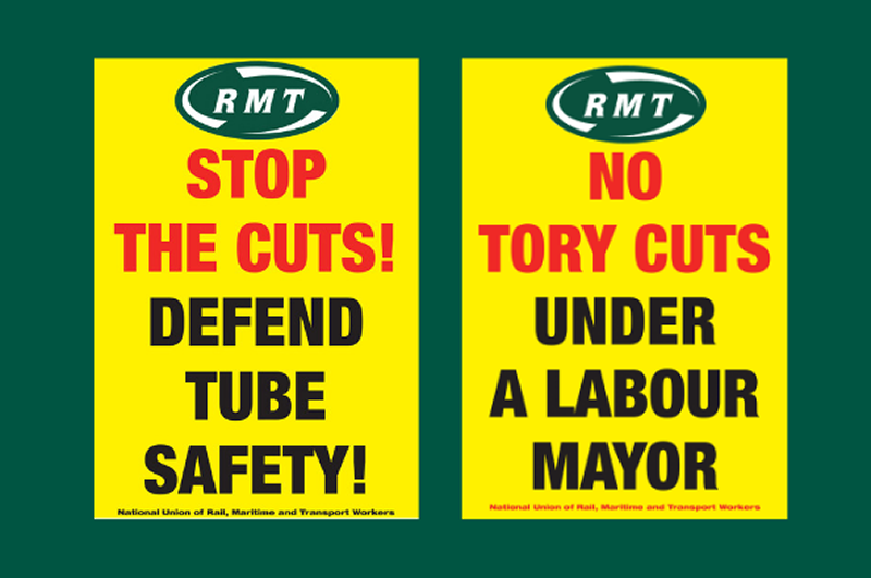 RMT to protest at City Hall today over Tube safety cuts