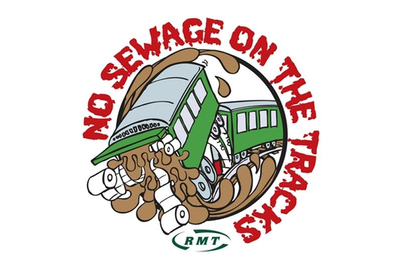 RMT reveals the eight rail routes still dumping raw sewage