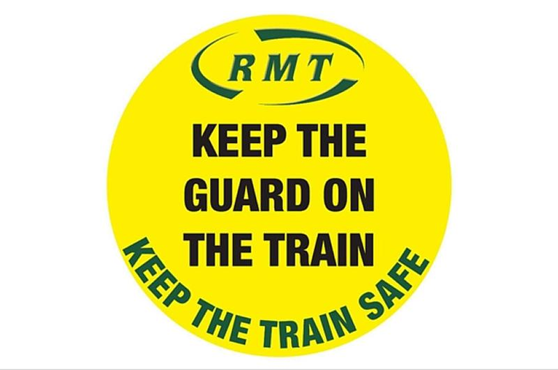 National RMT Protest Against Driver Only Operation