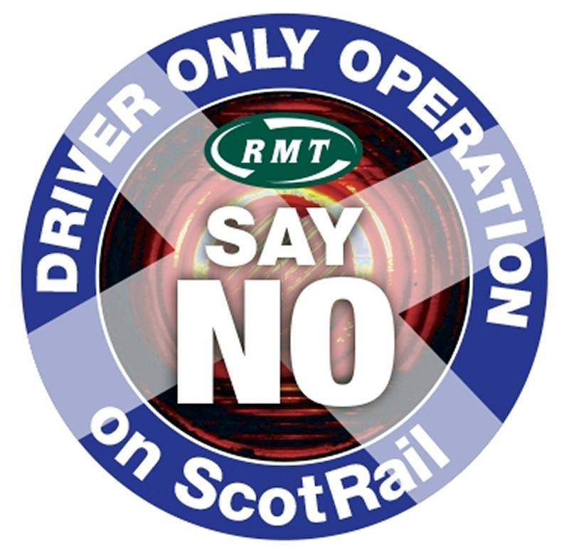 RMT exposes ScotRail's true DOO intentions
