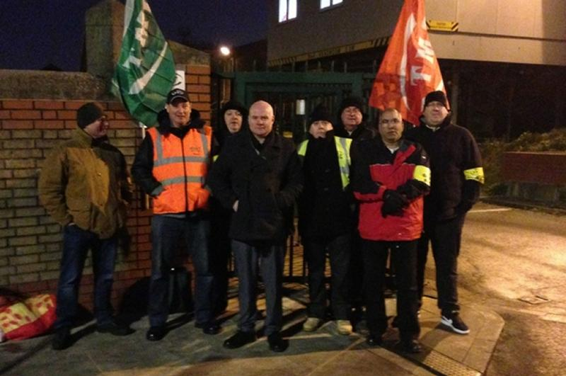 Tube drivers action on Central, Waterloo and City solid