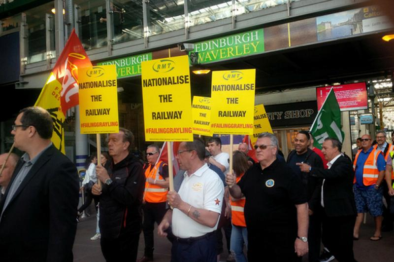 RMT demands a permanent end to privatisation