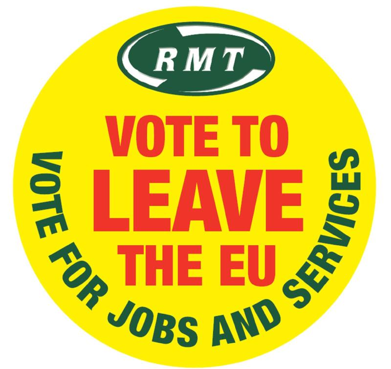 As EU imposes rail privatisation – RMT says