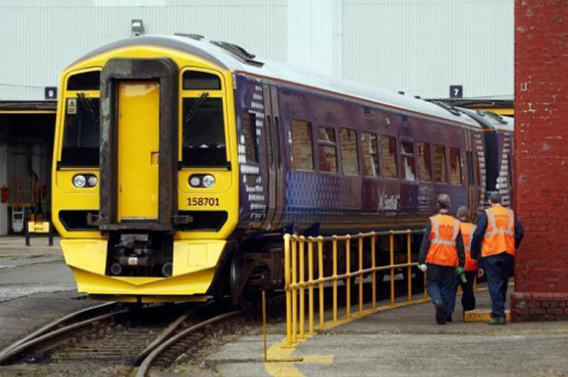 RMT calls for campaign to halt closure of Springburn depot