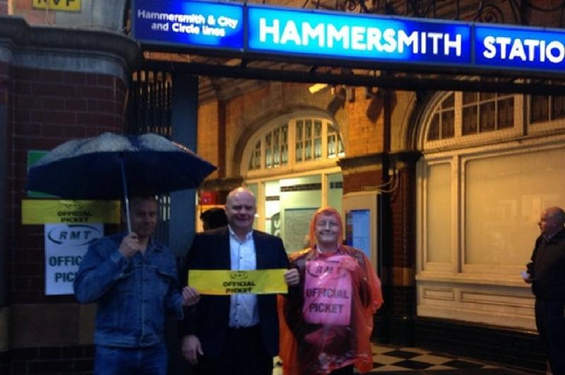 Hammersmith & City and Circle Line strike rock solid