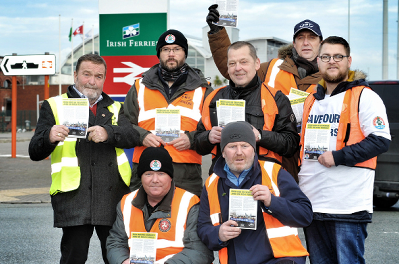 RMT to hold protest in Holyhead tomorrow