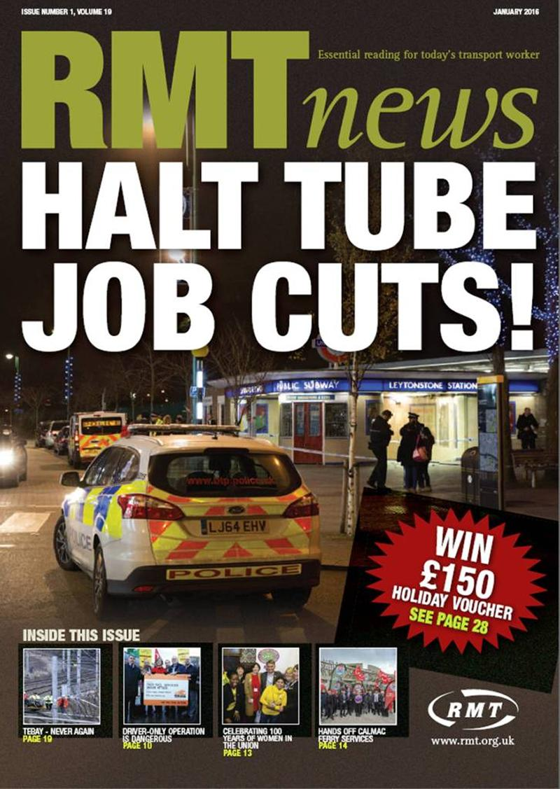 RMT News January 2016 Edition