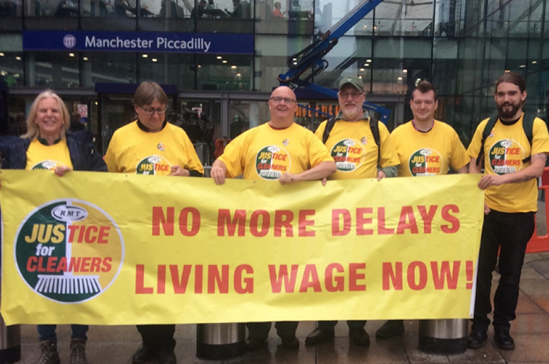 Westminster MPs support cleaners fight for Living Wage