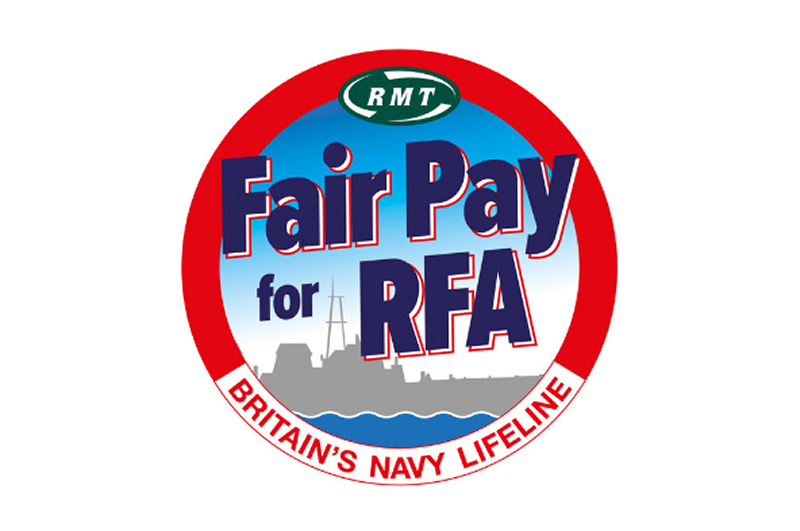 RMT blasts Government over Royal Navy Lifeline workers