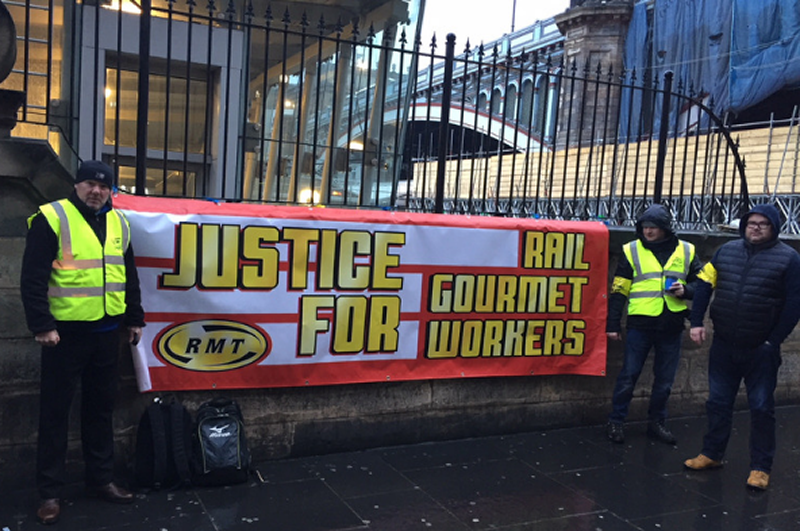 Rail Gourmet members to strike again in Edinburgh tomorrow