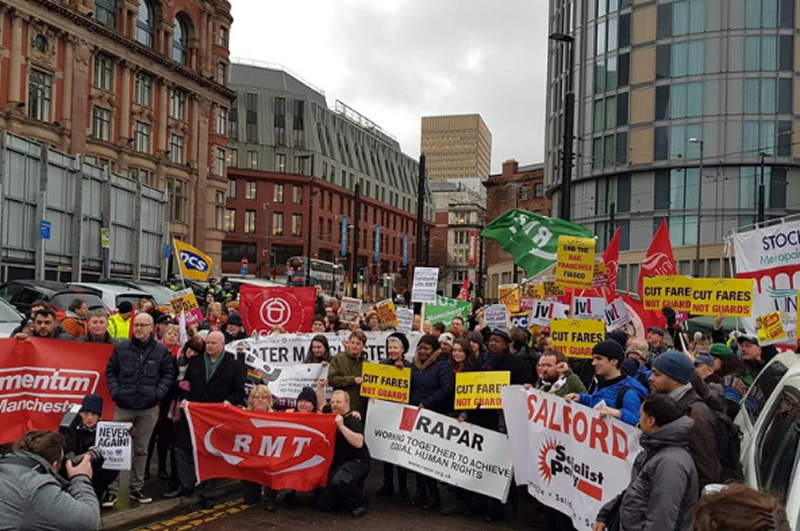 RMT Northern Rail members standing firm again