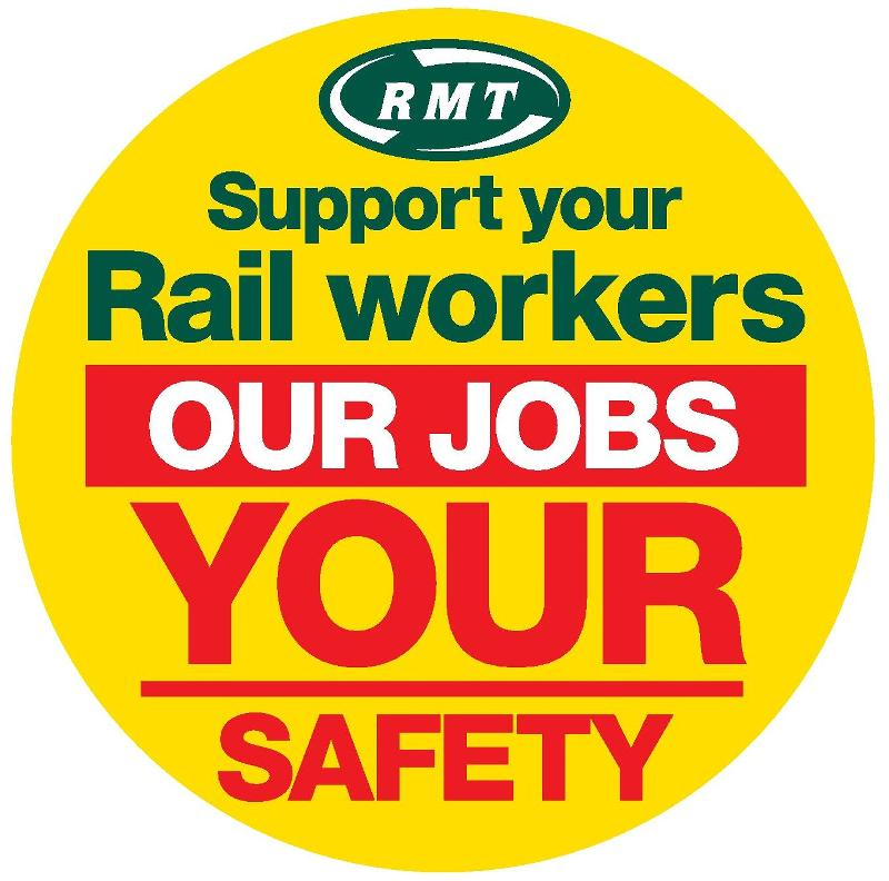 RMT confirms strike dates and overtime ban on Network Rail
