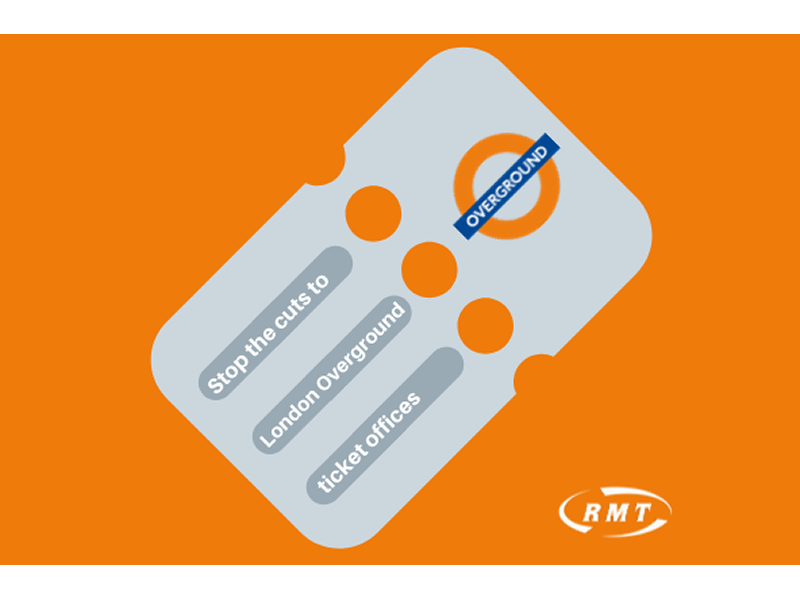 Stop the cuts to London Overground ticket offices