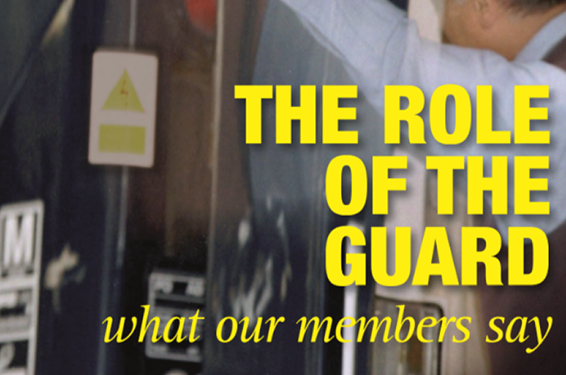 RMT launches new research that reveals vital role of guards