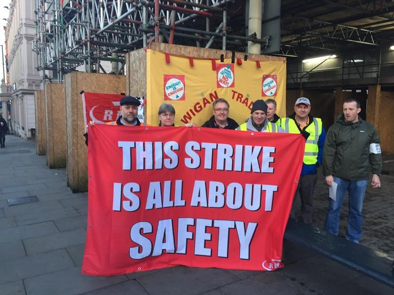 RMT Northern Rail action