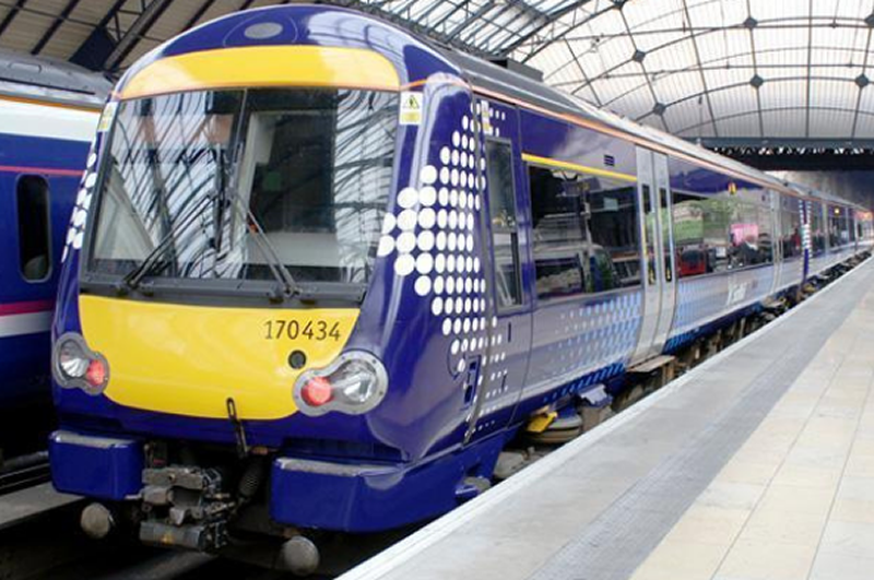 Third day of strike action by ScotRail conductors