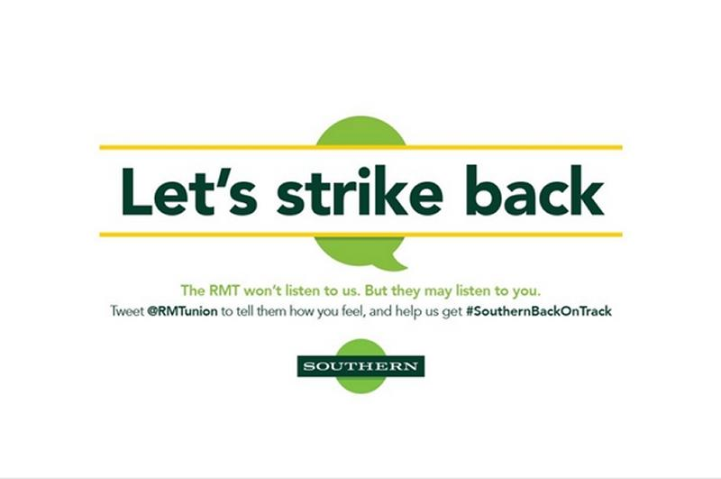 RMT forces Southern to withdraw media campaign