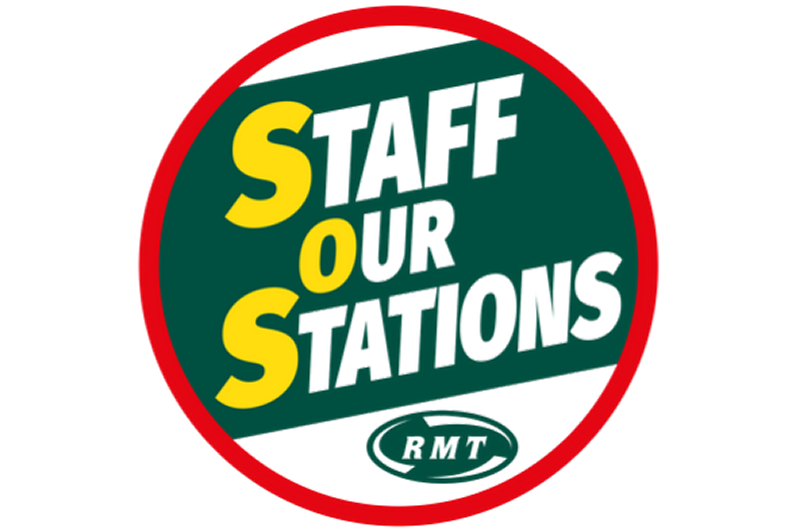RMT warn of dangers of unstaffed stations