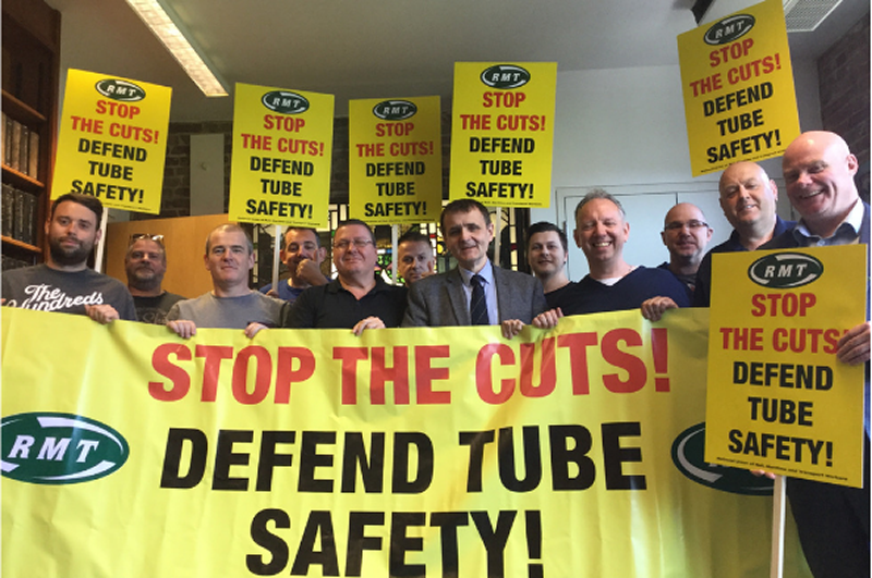 RMT chalks up major Tube victory