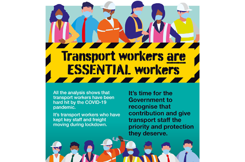 Transport Workers are Essential Workers