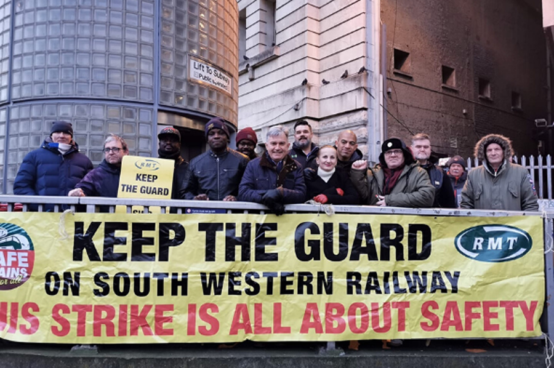 RMT issues fresh call for talks with South Western Railway