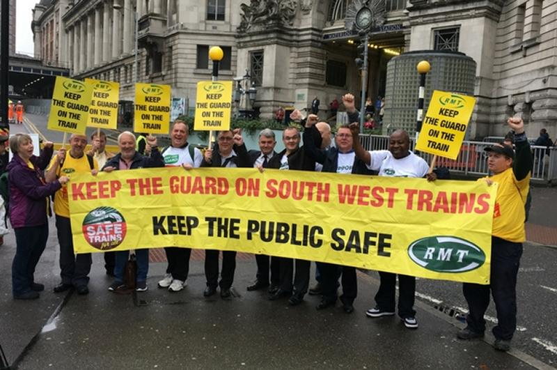 Union calls on South Western Railway to maintain Guards