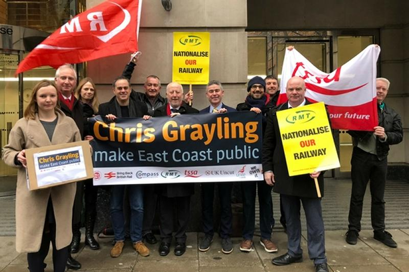 RMT supports petition calling for ECML public ownership
